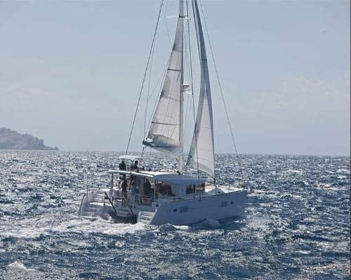 catamaran charter Croatia rent skippered yacht cruise sailboat multihull vessel sailing holidays Adriatic