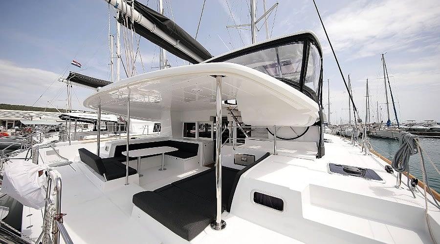 croatia catamaran rent Lagoon 450 Adriatic Queen 2 for a in yacht rental charter boat sailing holidays skipper hire adriatic rentals charters