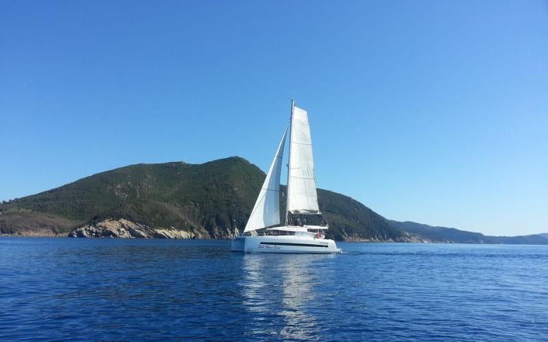 catamaran charter Croatia Catamaran rent Croatia skippered yacht cruise sailboat multihull vessel sailing holidays Adriatic