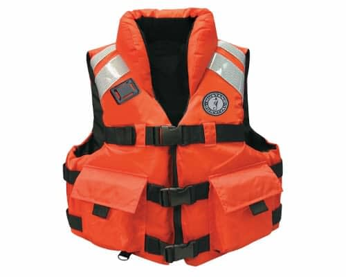 How to use a life vest on a catamaran