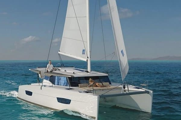 catamaran rent croatia Fountaine Pajot Lucia 40 for a in yacht rental charter boat sailing holidays skipper hire adriatic rentals charters 6