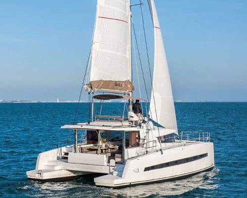 Bali 4.3-10 catamaran charter Croatia Catamaran rent Croatia skippered yacht cruise sailboat multihull vessel sailing holidays Adriatic