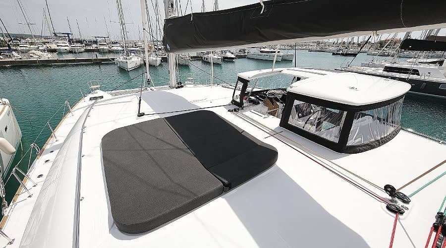 croatia catamaran rent Lagoon 450 Adriatic Queen 1 for a in yacht rental charter boat sailing holidays skipper hire adriatic rentals charters