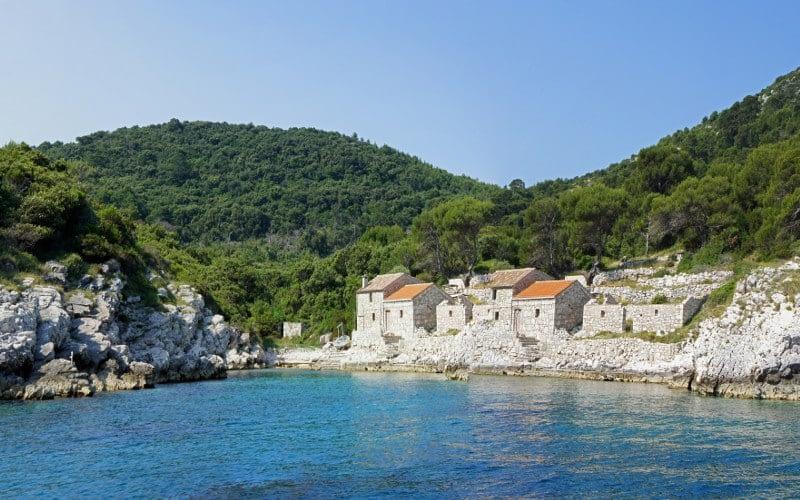 Zace bay Lastovo catamaran charter Croatia Catamaran rent Croatia skippered yacht cruise sailboat multihull vessel sailing holidays Adriatic