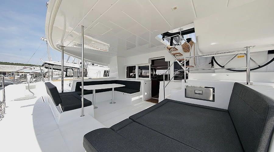 croatia catamaran rent Lagoon 450 Adriatic Queen 3 for a in yacht rental charter boat sailing holidays skipper hire adriatic rentals charters