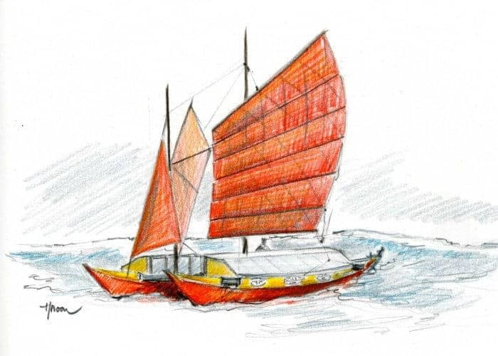 History of catamaran evolution
