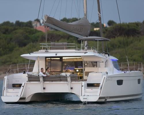 Fountain Pajot Saba 50 Luxury yacht charter