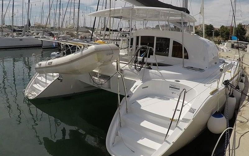 Catamaran rent croatia catamaran yacht charter Croatia dalmatia skippered yacht cruise sailboat multihull vessel sailing holidays Adriatic