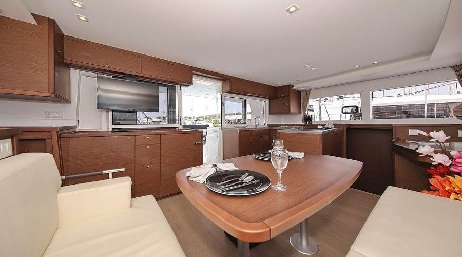 croatia catamaran rent Lagoon 450 Adriatic Queen 7 for a in yacht rental charter boat sailing holidays skipper hire adriatic rentals charters