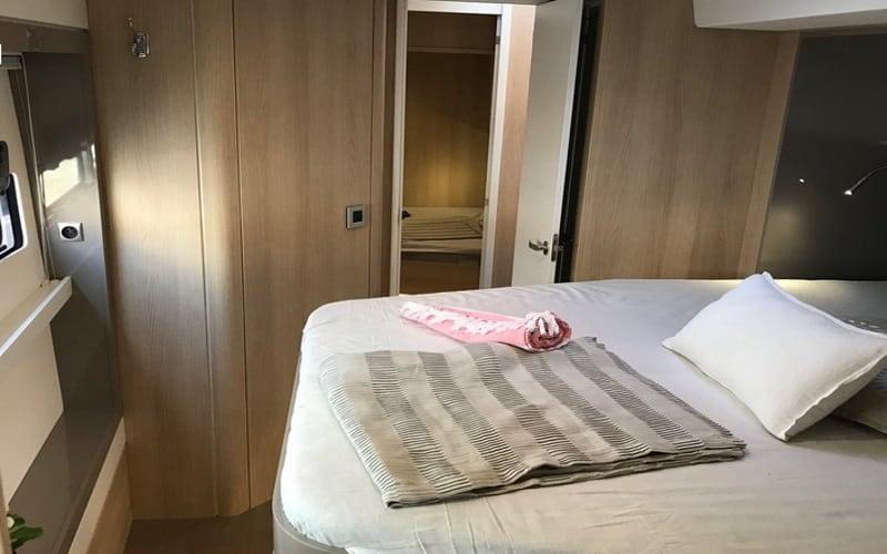 Catamaran rent croatia Bali 5.4 Luxury 8 catamaran charter Croatia dalmatia skippered yacht cruise sailboat multihull vessel sailing holidays