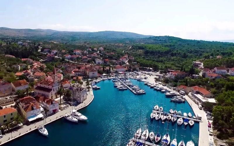 Milna city catamaran charter Croatia Catamaran rent Croatia skippered yacht cruise sailboat multihull vessel sailing holidays Adriatic