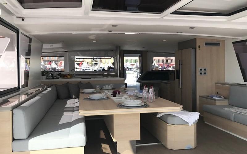 Catamaran rent croatia Bali 5.4 Luxury 6 catamaran charter Croatia dalmatia skippered yacht cruise sailboat multihull vessel sailing holidays