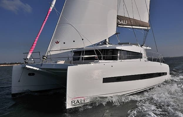 catamaran rent croatia Bali 4.1 Navis Vitae for a in yacht rental charter boat sailing holidays skipper hire adriatic rentals charters 6