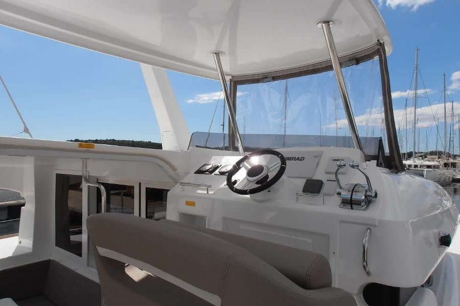 catamaran rent croatia Lagoon 40 MY Crazy cat 4 dalmatia yacht rental charter boat sailing holidays skipper for hire in adriatic multihull vessel