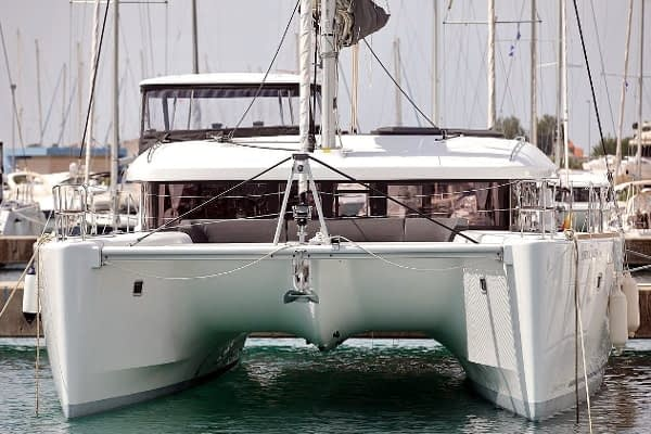 croatia catamaran rent Lagoon 450 Adriatic Queen 11 for a in yacht rental charter boat sailing holidays skipper hire adriatic rentals charters
