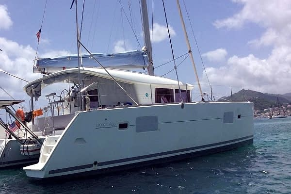 catamaran rent croatia Lagoon 400 Hako III for a in yacht rental charter boat sailing holidays skipper hire adriatic rentals charters