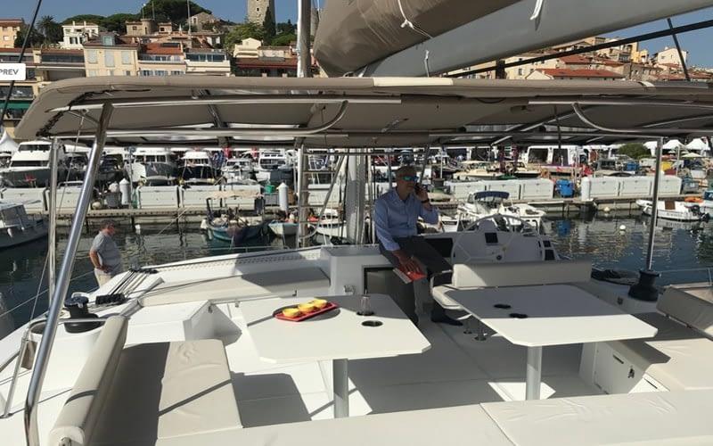 Catamaran rent croatia Bali 5.4 Luxury 4 catamaran charter Croatia dalmatia skippered yacht cruise sailboat multihull vessel sailing holidays